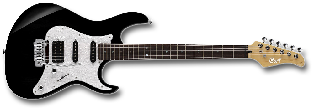 Guitarra Cort G 220 BK