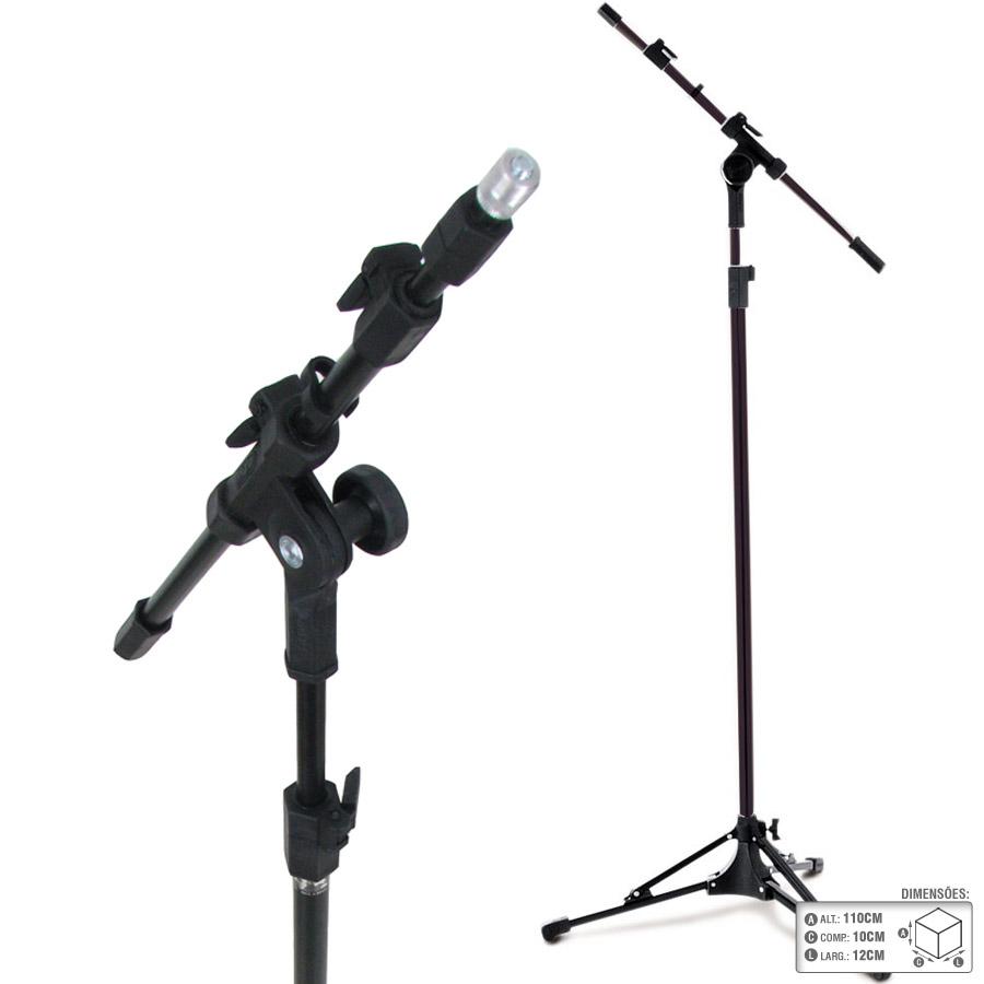 Suporte Universal Microfone Regulagem Rmv